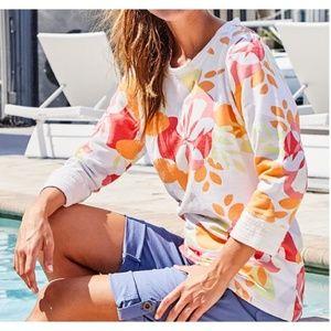 {Fresh Produce} Fresh Blossoms Sunset Sweatshirt
